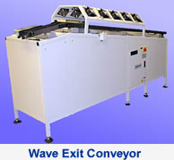 Dynapace: Wave Exit Conveyor